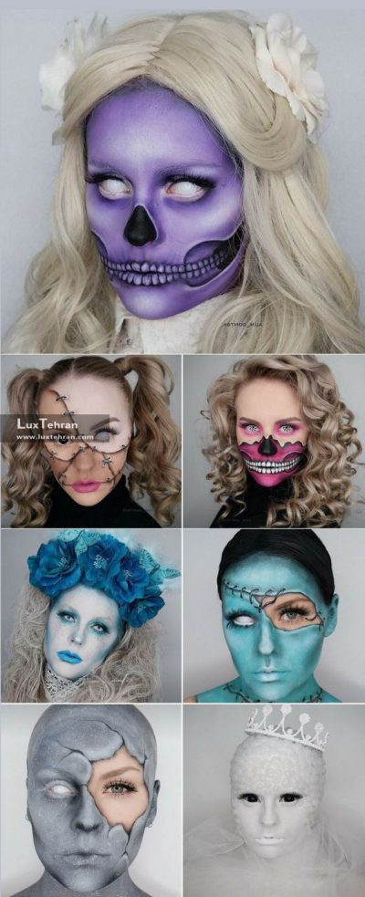 تنوع در ارایش هالووین