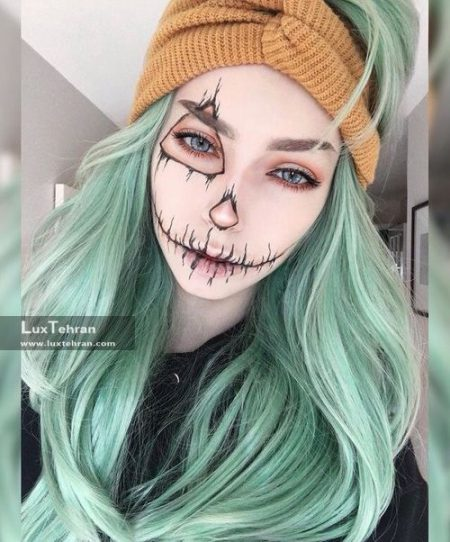 گریم دخترانه هالووین