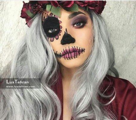 گریم هالووین آرایش هالووین