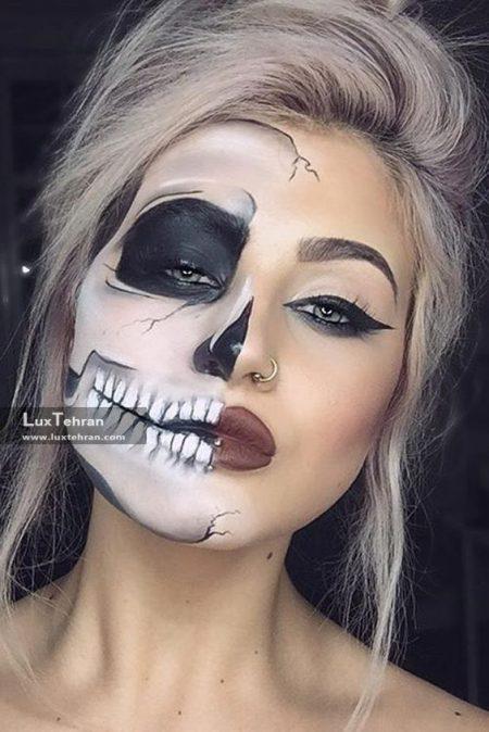 آرایش صورت برای هالووین