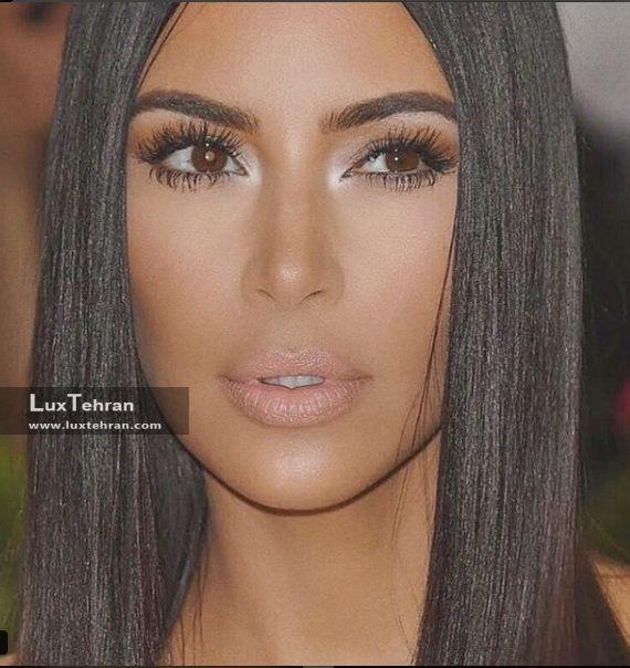 فوتوشوتی از آرایش های پاییزی کیم کارداشیان