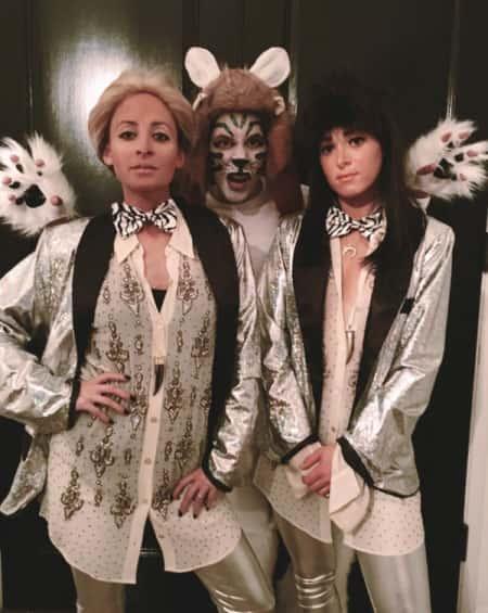 نیکول ریچی در لباس هالووین