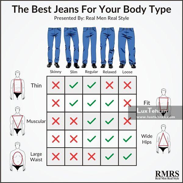 شلوار جین بدون کمربند
