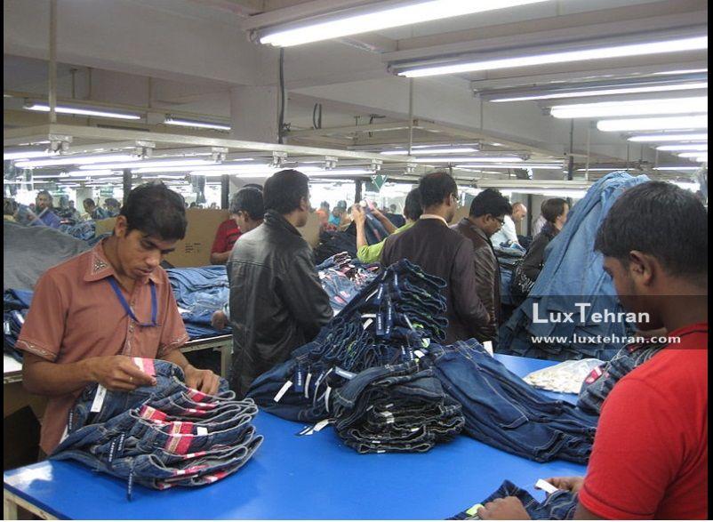 شرق آسیا در زمینه تولید و فروش شلوار جین