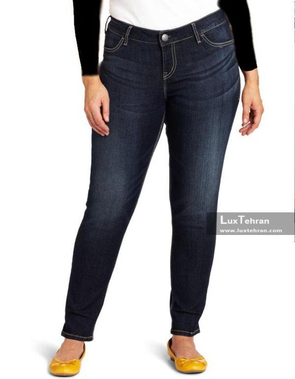 پوشیدن شلوار جین برای خانم های چاق