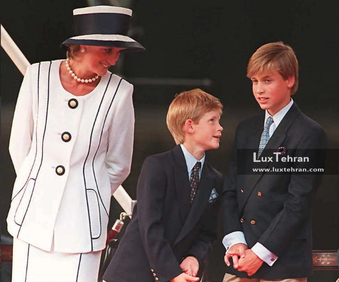 تصویری از کلکسیون مد و لباس جذاب پرنسس دایانا کلاه