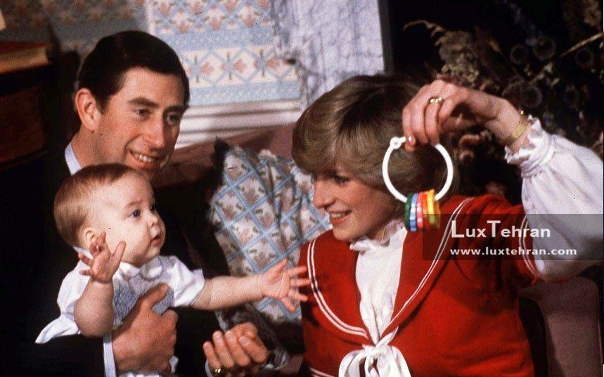 تصویری از لباس پرنسس دایانا و پرنس چارلز در سال ۱۹۸۴ میلادی