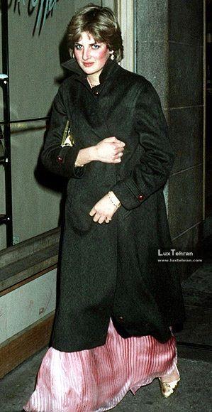 پرنسس دایانا را در سال ۱۹۸۰ میلادی