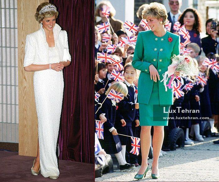 یکی از جذاب ترین لباس های کلکسیون مد پرنسس دایانا فقید