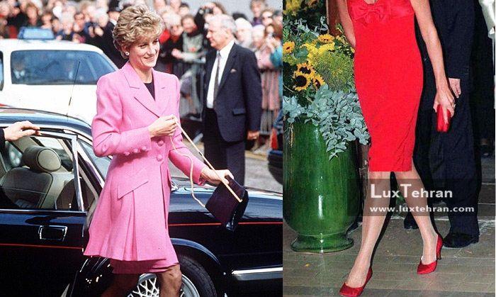 کلکسیون لباس های جذاب صورتی پرنسس دایانا