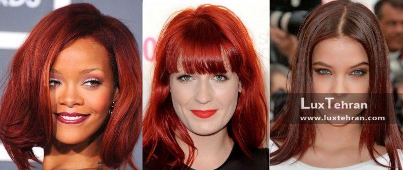 جذاب ترین رنگ موهای شرابی برای خانم های خوش پوش