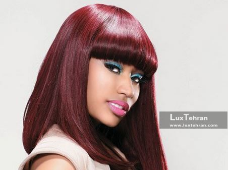 رنگ موی شرابی | جذاب ترین رنگ موهای شرابی برای خانم های خوش پوش