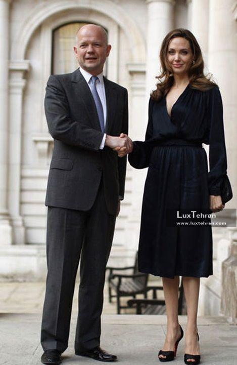 دیدار های رسمی انجلینا جولی با مقامات سیاسی جهان