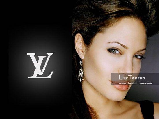 تبلیغ آنجلینا جولی برای برند لاکچری لویی ویتون