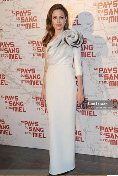 کلکسیون لباس شب انجلینا جولی، طرحی از برند Ralph & russo