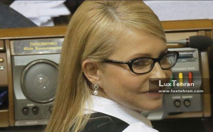 (تصویر خانم یولیا تیموشنکوف پیش از بافتن موی خود به سبک زنان اوکراینی زنان سیاستمدار جهان