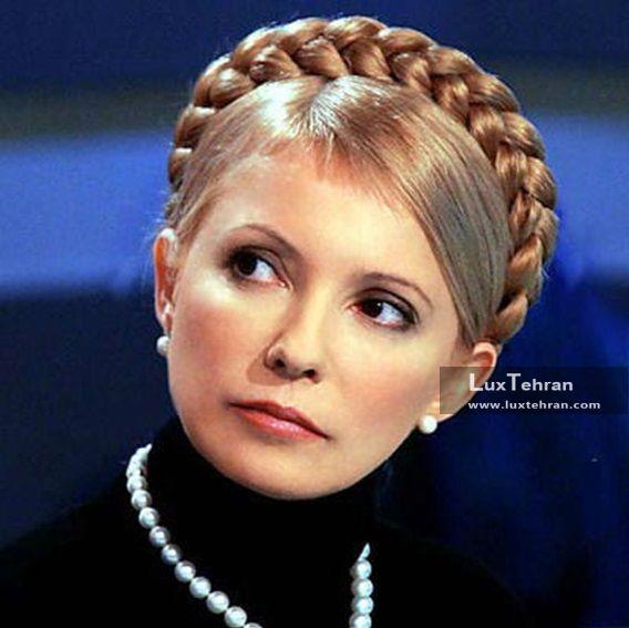 تصویر یولیا تیموشنکوف با Ukrainian Braids  زنان سیاستمدار جهان