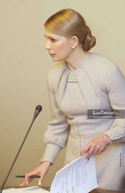 استایل لباس و موی باز و صاف خانم نخست وزیر زنان سیاستمدار جهان