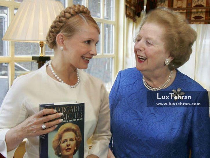 زنان سیاستمدار جهان تصویر یولیا تیمو شنکوف نخست وزیر سابق اوکراین با لباس ساده