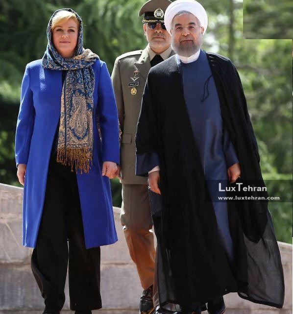 دیدار حسن روحانی، رییس جمهور ایران با رییس جمهور کرواسی در تهران زنان سیاستمدار جهان