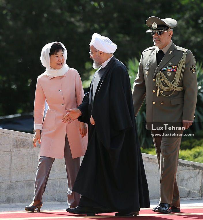 رییس جمهور ایران با رییس جمهور کره جنوبی در تهران زنان سیاستمدار جهان