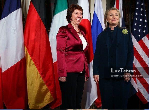 زنان سیاستمدار جهان تصویری از استایل همیشه خندان کاترین اشتون