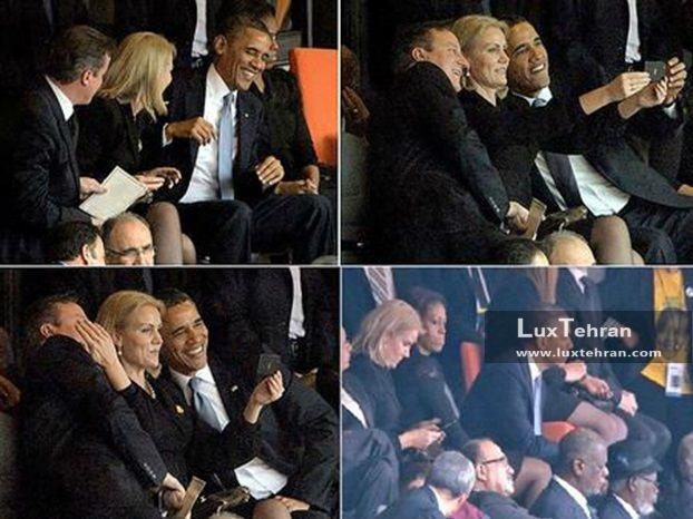 زنان سیاستمدار جهان خانم هله ترونینگ اشمیت   Helle Thorning-Schmidt  نخست وزیر اسبق دانمارک در کنار اوباما