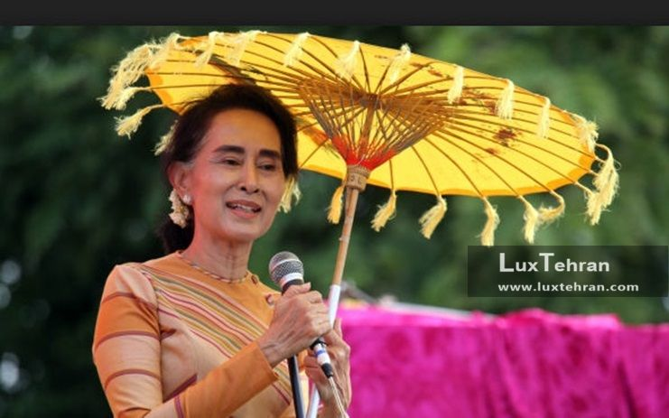 زنان سیاستمدار جهان لباس هایی یقه بسته با آستین بلند و رنگ های شاد