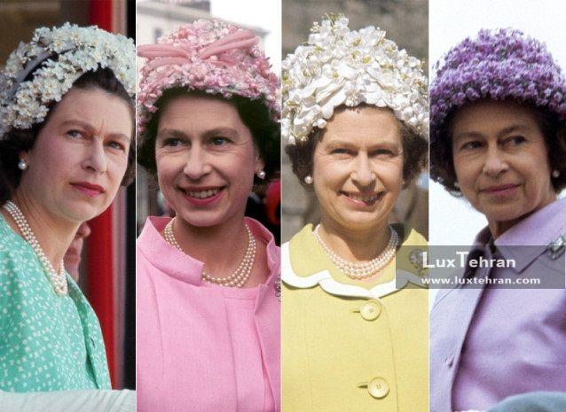 کلاه و مد الیزابت دوم زنان سیاستمدار جهان