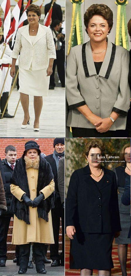 زنان سیاستمدار جهان دیلما روسف و سبک کت و دامن های متنوع