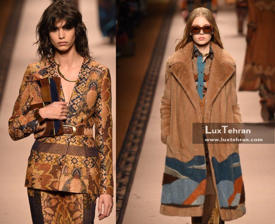 طرح های تاپستری در فشن ویک های پاییزی لباس بانوان