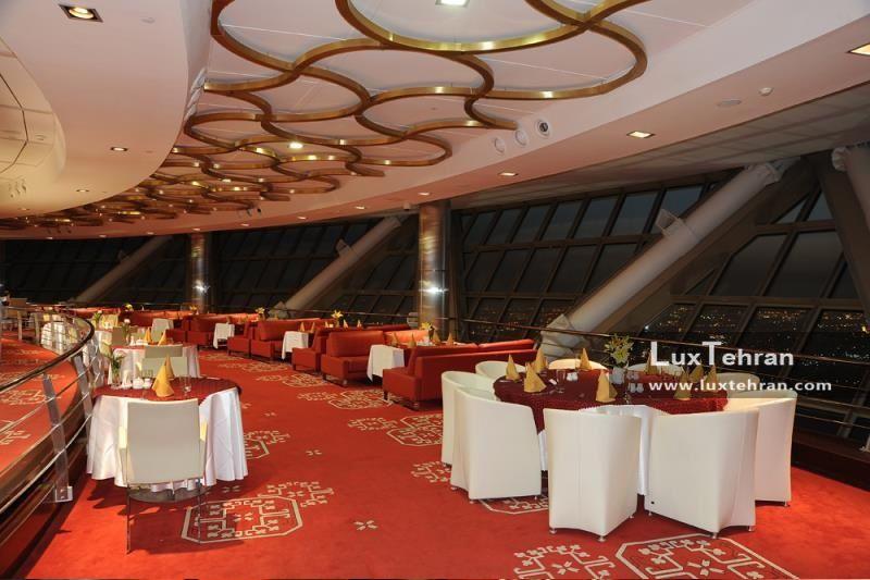 رستوران گردان برج میلاد تهران