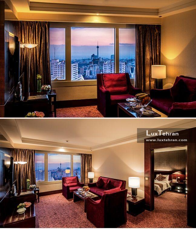 اتاق های جونیور هتل بین المللی آزادی تهران