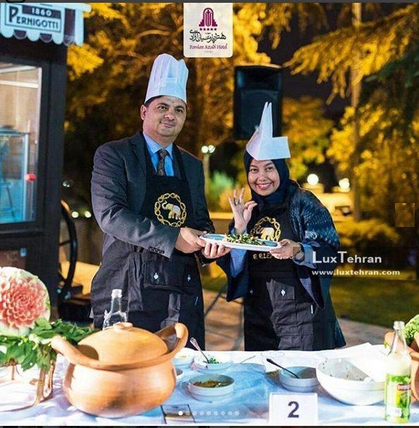 جشنواره غذاهای تایلندی در هتل بین المللی پارسیان آزادی تهران
