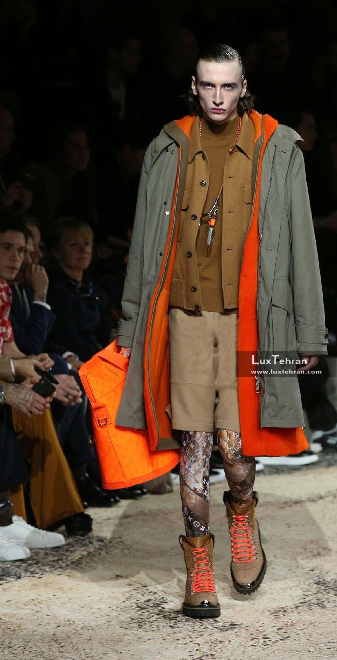 انواع مدل های لباس مردانه لویی ویتون
