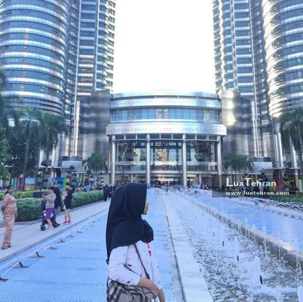 کاربران مالزی گرد اینستاگرام برج های دوقلو