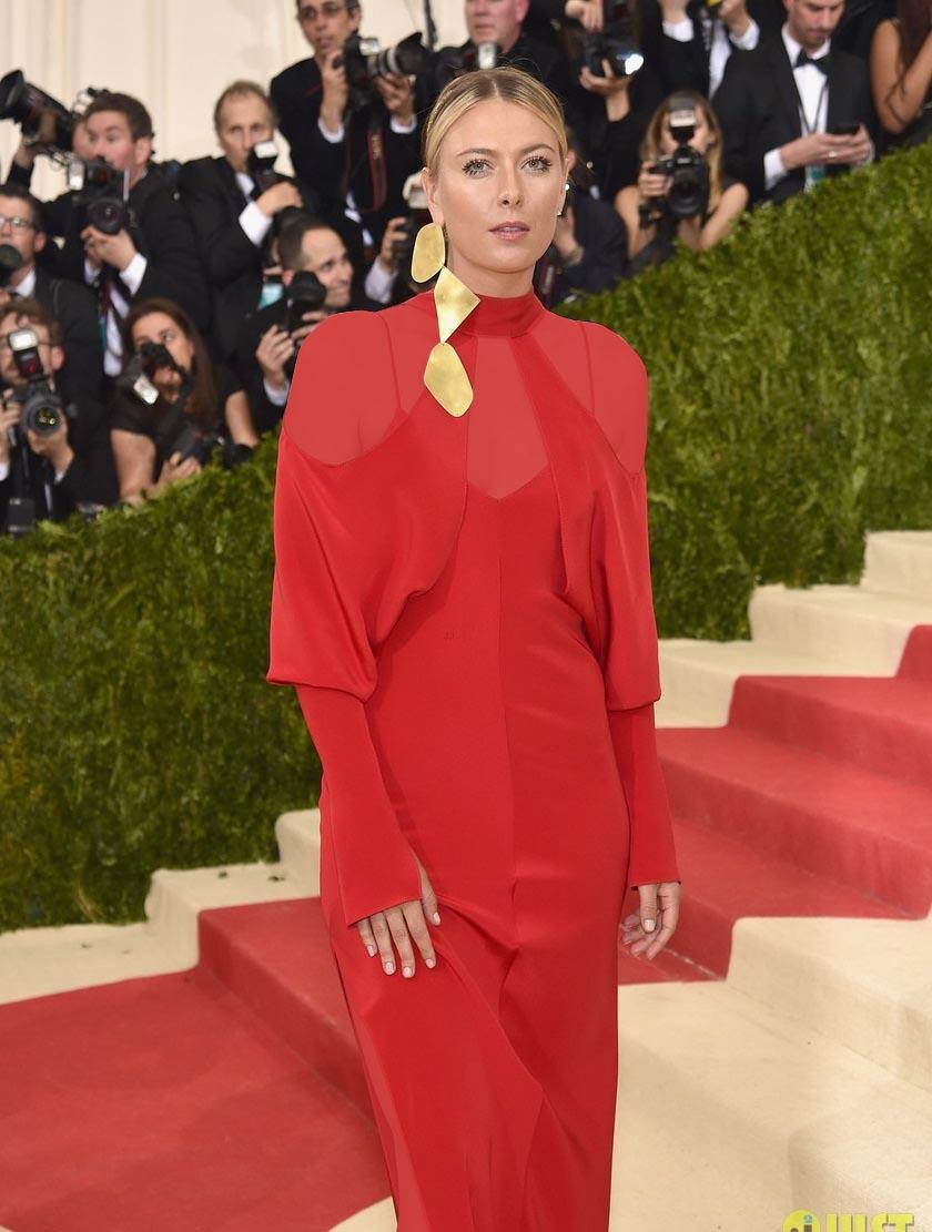 معروف ترین استایل های لباس ماریا شاراپووا را در مراسم MET GALA