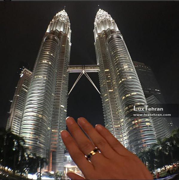 پتروناس در شب به روایت یک تازه عروس مالزی گرد