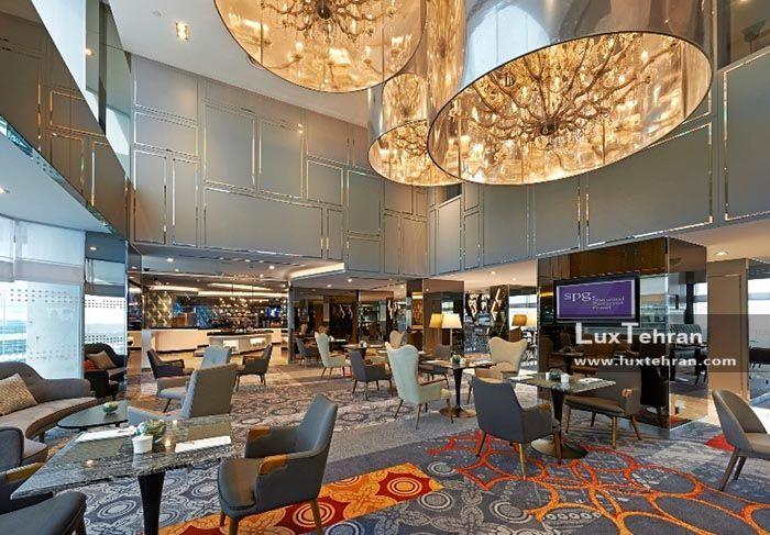 دکوراسیون مجلل هتل لمردین کوالالامپور