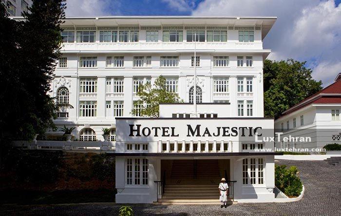 تصویر ساختمان هتلل مجلل مجستیک تاور کوالا