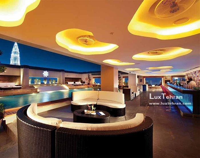 لونا بار هتل پاسفیک ریجسنی کوالالامپور