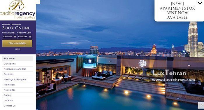 سایت هتل پاسفیک ریجنسی کوالالامپور