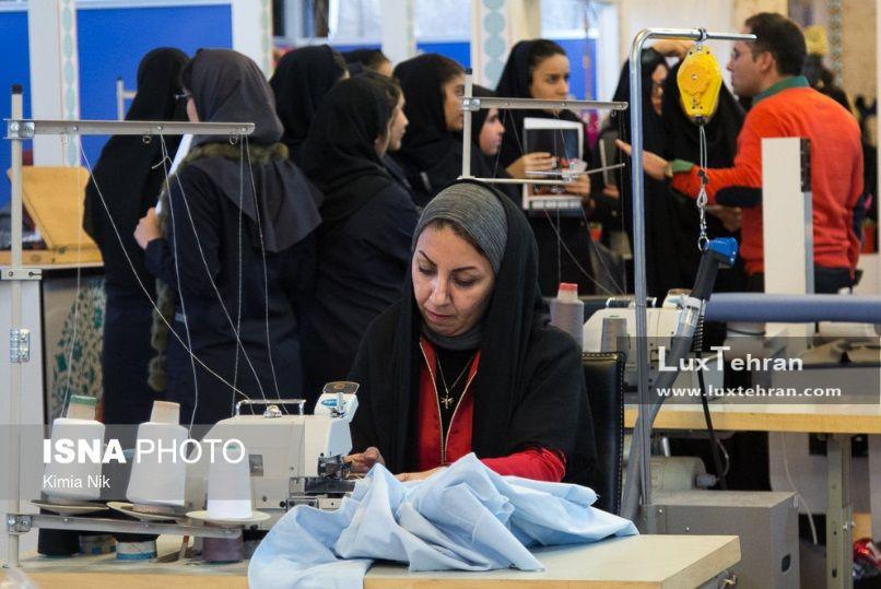 تولید لباس در مسابقه طراحی لباس