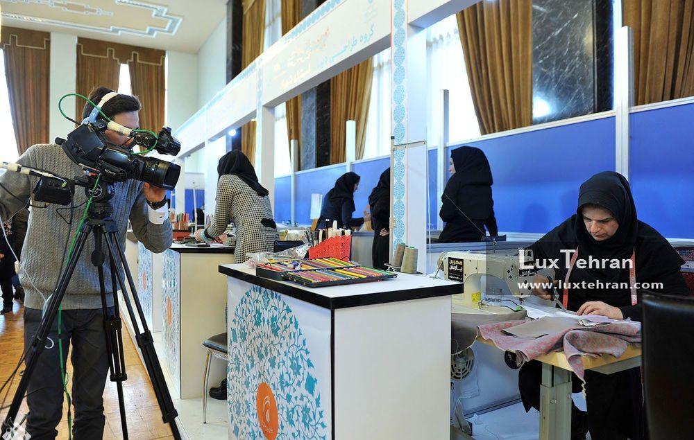 شرکت کنندگان مسابقه طراحی لباس