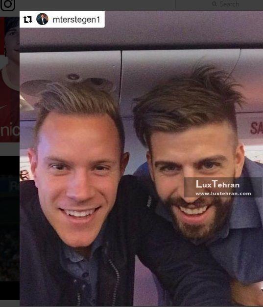 صفحه اختصاصی باشگاه بارسلونا در اینستاگرام