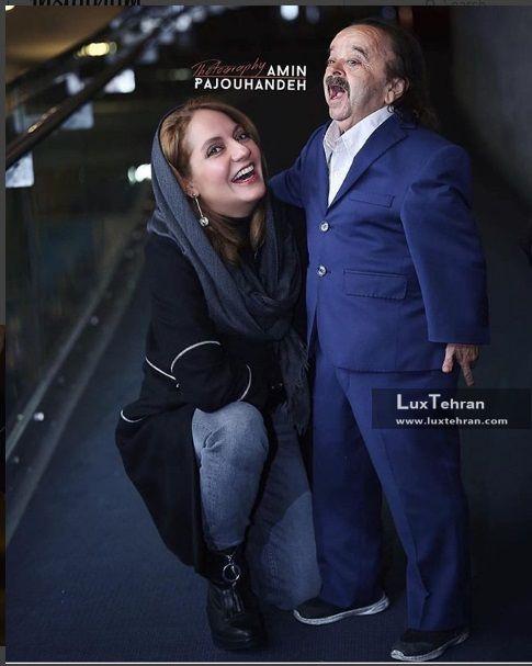تیپ ساده مهناز افشار در سینما پردیس ملت تهران