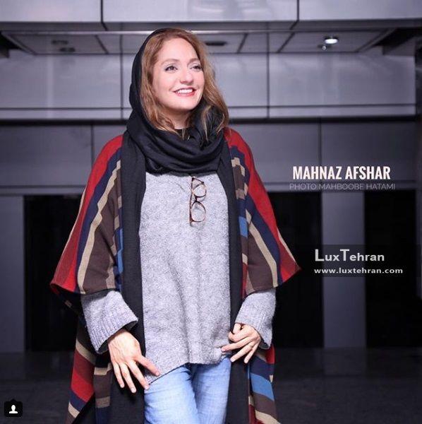 از کلکسیون مد و لباس مهناز افشار در کنفرانس های خبری سی و ششمین جشنواره فیلم فجر