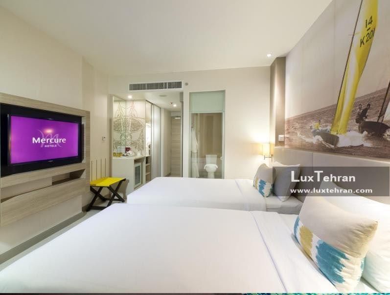 تصویری از اتاق های مجلل هتل مرکیور پاتایا