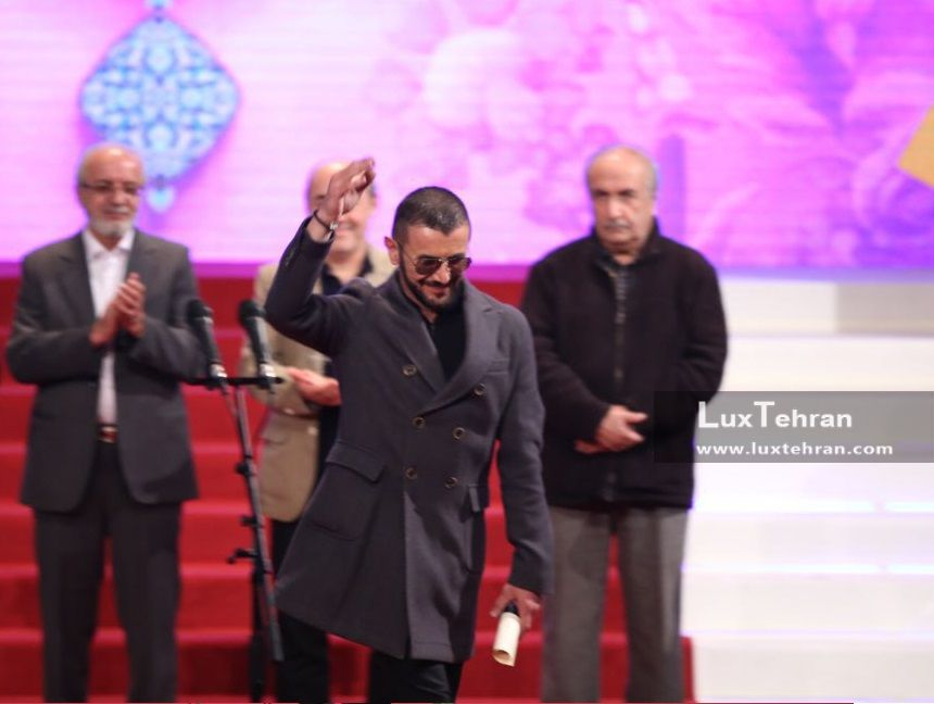 تیپ های مردانه در مراسم اختتامیه سی و ششمین دوره جشنواره فیلم فجر امین حیایی