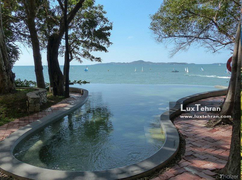 نمایی از ساحل پاتایا از هتل مونترا